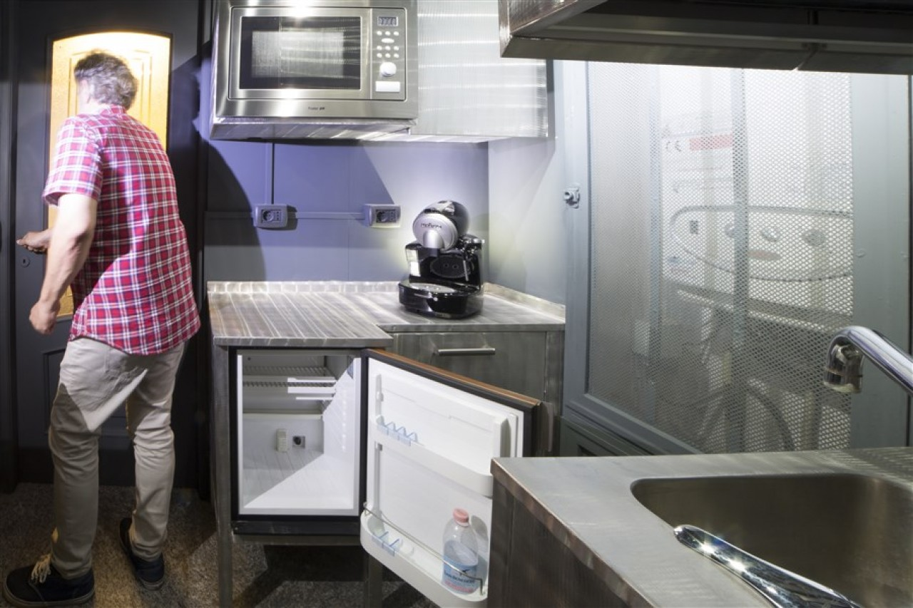 Blocchi cucina acciaio inox spazzolato   Progetti Borlina Acciaio